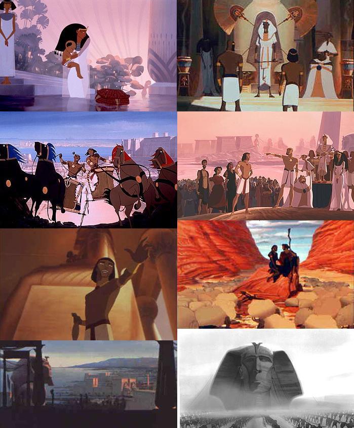 O Principe Do Egito Cinema Educacao